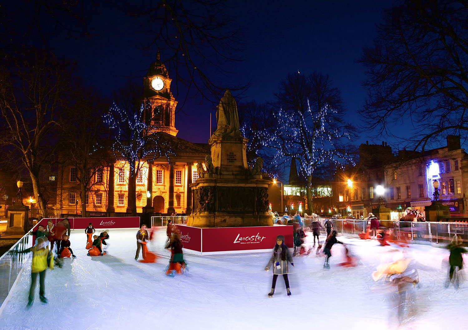 Ice rink in Lancaster