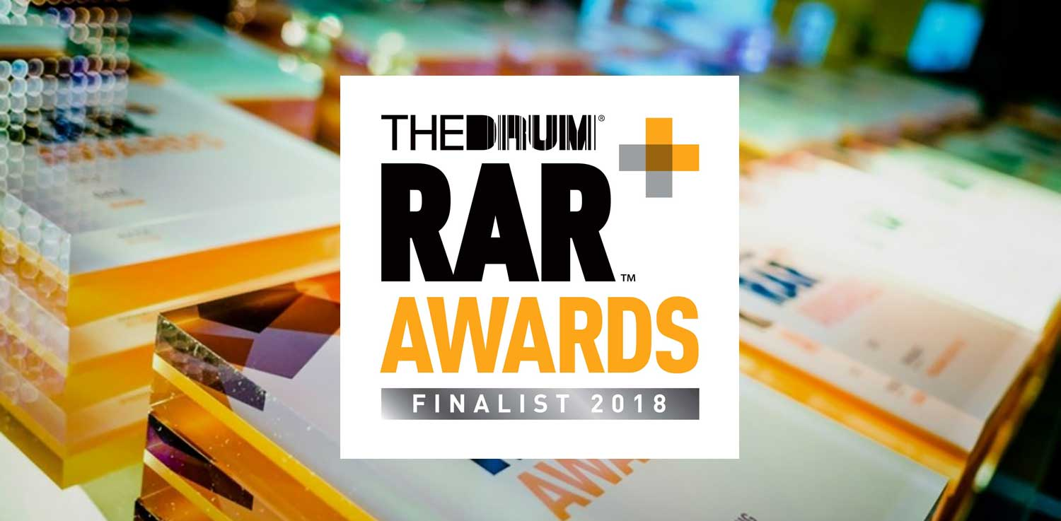 RAR Awards finalist 2018